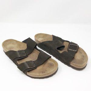 Birkenstock Brown Arizona Soft Sandals Size 10